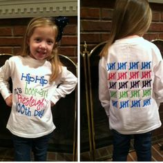 Does your child's school celebrate the 100th Day? Our personalized 100th Day of School shirts are available in youth-adult sizes!