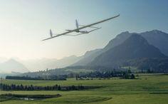 Future technology Concept Solar Powered Aircraft [Electric Airplanes: http://futuristicnews.com/tag/electric-airplane/ Future Airplanes: http://futuristicnews.com/tag/aircraft/ Electric Vehicles: http://futuristicnews.com/tag/electric-vehicle/]