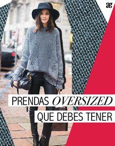 La tendencia oversized es para aquellas que no temen innovar más allá de la figura perfecta. En el Blog Andrea te damos las claves para lucir súper stylish con prendas XXL. #Blog #BlogAndrea #Fashion #Style