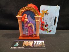 Disney Store Jessica & Roger Rabbit 2015 Sketchbook Christmas Ornament