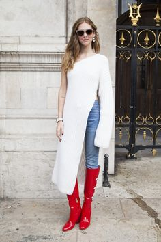 While  New York Fashion Week seriously brings it in the street style department each season, there's no denying that the industry's top trendsetters—from editors and buyers to models and bloggers—generally save their best looks for the last leg of the four-city fashion marathon: Paris Fashion Wee...