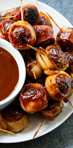 Barbecue Bacon Meatballs