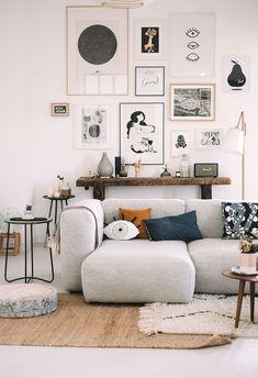 trendy living room scandinavian interiors black and white Living Room Scandinavian, Living Room Modern, Living Room Designs, Scandinavian Interiors, Living Spaces, Cozy Living, Scandinavian Design, Living Room Furniture, Home Furniture