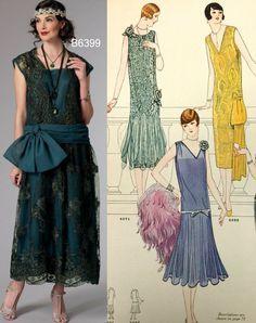 Sew the Look: Butterick B6399 1920s dress pattern
