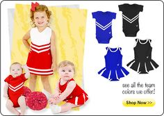 Shop Our New Infant and Toddler Uniforms! Get your baby  sc 1 st  Pinterest & 79 best Cheerleader outfit images on Pinterest | Infancy Infant and ...
