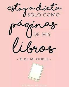 Sólo como páginas de mis libros. #book #leer #reading #lovebook
