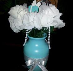 Tiffany Blue Party Tiffany Blue Party, Vase, Home Decor, Decoration Home, Room Decor, Vases, Home Interior Design, Home Decoration, Interior Design