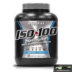 Dymatize iso-100 é uma proteína 100% de soro do leite (100% isolada) Esta proteína foi desenvolvida para atingir a perfeição. É 100% hydrolizada e instantânea e é elaborada passando por 5 etapas de qualidade. A máxima utilização proteica é essencial para a recuperação muscular e para um equilíbrio de nitrogênio no sangue, o qual é critico em períodos de treinos intensos.