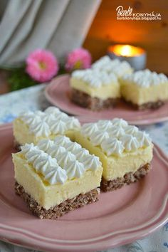 Hungarian Cake, Hungarian Recipes, Cookie Recipes, Dessert Recipes, Cake Bars, Sweet And Salty, Something Sweet, Winter Food, Love Cake