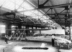 First to Fly — Wright Brothers' Factory | Photograph | Wisconsin Historical Society