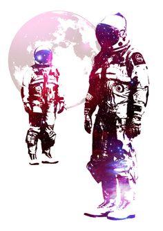 Poster | SPACE MEN von Rubbishmonkey | more posters at http://moreposter.de