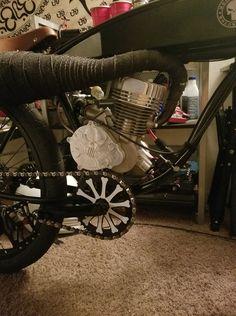 Zeda GT-90 Case Reed Motorised Bike, Bike Chain, Bobbers, Punisher, Baby Strollers, Bicycle, Board, Bicycles, Motorbikes