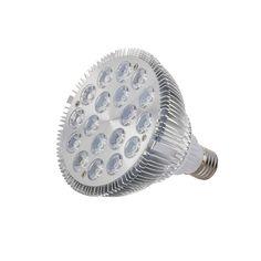 1pcs Full Spectrum Led Grow Light E27 54W Led Growing Lamp for Flower Plant Hydroponics System aquarium Led lighting