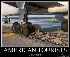 Turistit amerikasta