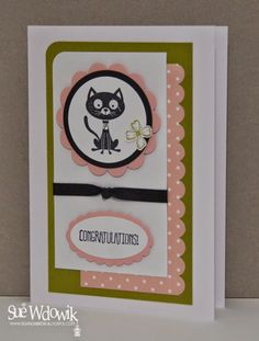 Sue Wdowik - Independent Stampin' Up! Demonstrator (Australia) August 2014 Charity - RSPCA Cupcake Day