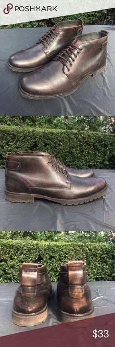 Antique Brown Faux Leather Lace-up Boots Clarks, Converse Boots, Leather Lace Up Boots, Boot Brands, Brown Fashion, Fashion Design, Fashion Tips, Fashion Trends, Elegant Dresses