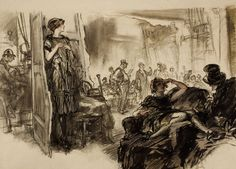 HENRY PATRICK RALEIGH (American, 1880-1944). The Auction Room, | Lot #78740 | Heritage Auctions