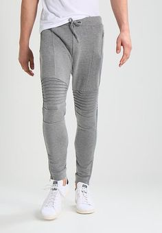 Tracksuit bottoms - mottled grey Grey 8071ee23115