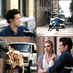 "#Stitchers 1x04 ""I See You"" - Kirsten and Cameron #6/23/15"