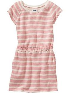 Girls French-Terry Dresses | Old Navy