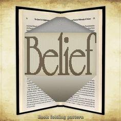 Book folding pattern Belief for 314 folds - ID0884575