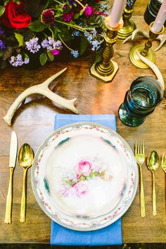 North Country Vintage Rentals Place Setting