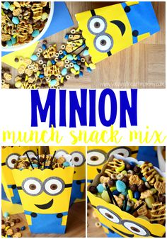 Minion Munchies Snack Mix #The7thMinion #Ad
