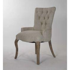Zentique Inc. Iris Tufted Arm Chair
