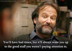 Robin Williams quote <> I like it.