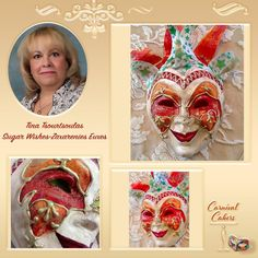 Carnival Cakers Collaboration  by Tina Tsourtsoulas