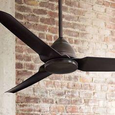 "54"" Minka Aire Java Kocoa Indoor/Outdoor Ceiling Fan - #W9992 | Lamps Plus"