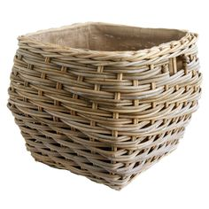 Playmobil Tall Woven Basket Hamper W// Cover Handles Victorian Dollhouse