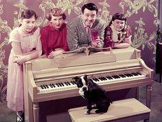 Jackie Gleason and family