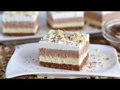Tohle je dort, který vás přivádí k šílenství, moji mě žádají, abych to co nejdříve udělal znovu - YouTube Sweet Desserts, No Bake Desserts, Sweet Recipes, Dessert Recipes, Baking Recipes, Cookie Recipes, Croation Recipes, Praline Recipe, Chocolate Pudding Cake