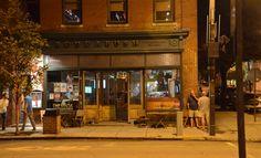 Roudabush pub...Front street, downtown.