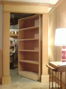 Hidden Door Bookshelf Hidden Door Bookshelf – StashVault