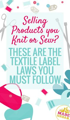 Regardless of how small your business is, you have to follow label laws. I checked and they will not go easy on you because you're a small handmade business. Find out the guidelines to need to follow.