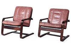Danish Modern Bentwood Chairs, Pair on OneKingsLane.com