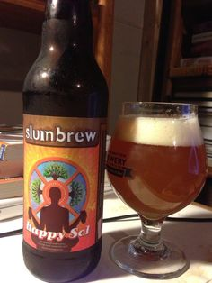 Slumbrew is another of the up and coming western Massachusetts breweries. Their Happy Sol is a tasty hefeweizen  made with honey, orange peel, coriander and blood orangeswonderful and refreshing wheat flavor, with the real star being the blood orange aroma and taste. Delicious warm weather beer
