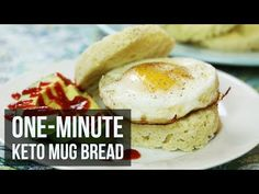 One-Minute Keto Mug Bread – Forkly