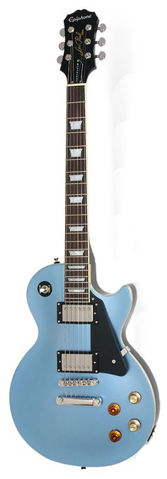 """Limited Edition EPIPHONE JOE BONAMASSA Les Paul Standard Outfit in Pelham Blue 