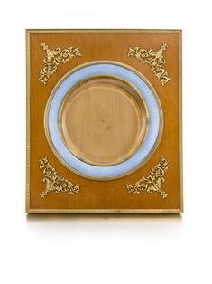 A Fabergé wood and enamel frame, Third Artel, St Petersburg, Pastel Blue, Scrapbooking Layouts, Picture Frames, Third, Russia, It Works, Saints, Enamel, Icons