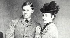 Linley and Marion Sambourne around the time of their marriage in 1874.