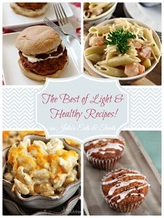 The Best of Light & Healthy Recipes!