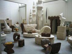 Brancusi's studio, Pompidou Center 2 by cf071, via Flickr