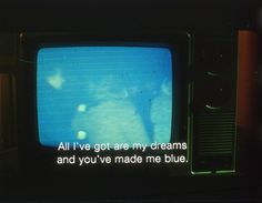 """""""Blue Dreams"""" part of """"Cine Project"""" by Robin Cracknell(photographer)"""