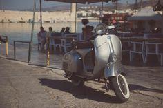 by Nick Brokalakis / Vespa Images, Motorcycle, Stock Photos, Vehicles, Photography, Princess, Photograph, Fotografie, Motorcycles
