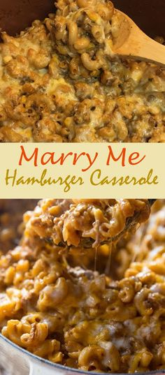 Marry Me Hamburger Casserole - CENANIS FOOD meat recipes easy dinner ideas main dishes Healthy Meat Recipes, Meat Recipes For Dinner, Top Recipes, Casseroles Healthy, Beef Casserole Recipes, Casserole Dishes, Breakfast Casserole, Taco Casserole, Recipe For Corn Casserole