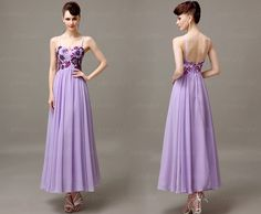 Lilac prom dress, chiffon prom dress, prom dress 2015, prom dress online, long prom dress, 13050