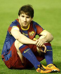 Imagen MUY POCO usual.Messi y la cara de la derrota.Final Copa del Rey 2011 Leonel Messi, Camp Nou, Fc Barcelona, Premier League, Cr7 Vs Messi, God Of Football, Maria Sarapova, Argentina National Team, Sports
